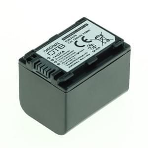 Ersatzakku ersetzt Sony NP-FH70 / NP-FP70 Li-Ion - 1300mAh