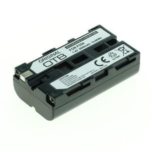Ersatzakku ersetzt Sony NP-F550 Li-Ion - 2000mAh