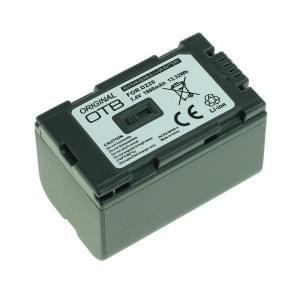 Ersatzakku ersetzt Panasonic CGR-D220 Li-Ion - 1800mAh