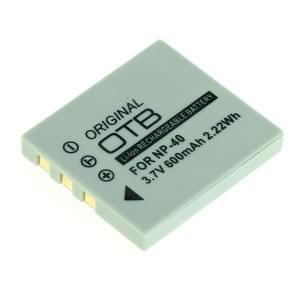 Ersatzakku ersetzt Fuji NP-40 / Pentax D-LI85 / Samsung SLB-0737 / 0837 Li-Ion - 600mAh