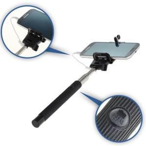 Selfie Stick / Monopod ausziehbar mit Auslöseknopf für Smartphones