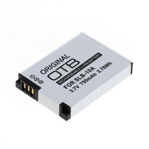Ersatzakku ersetzt Samsung SLB-10A / JVC BN-VH105 Li-Ion - 750mAh