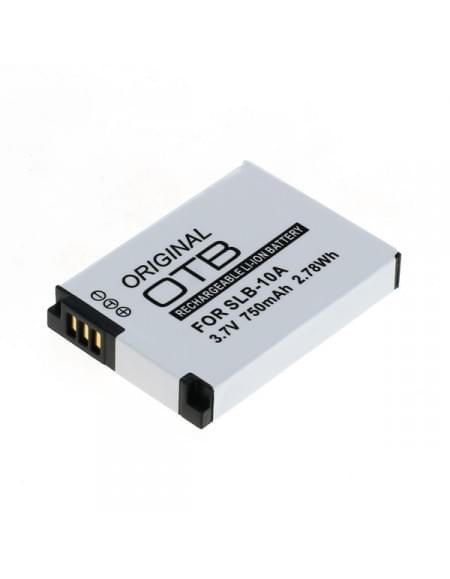 CE zertifiziert Akku, Ersatzakku ersetzt Samsung SLB-10A / JVC BN-VH105 Li-Ion - 750mAh