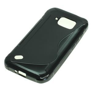 Silikon Case / Schutzhülle für Samsung Galaxy S6 Active SM-G890 S-Curve schwarz