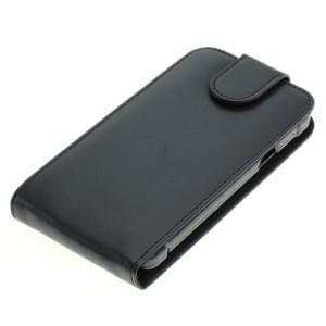 Ledertasche PU Leder für Samsung Galaxy XCover 3 SM-G388F Flipcase schwarz