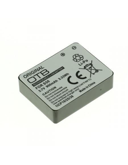 CE zertifiziert Akku, Ersatzakku für Rollei S-50 Li-Polymer
