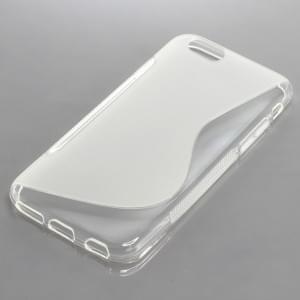 Silikon Case / Schutzhülle für Apple iPhone 6S S-Curve transparent
