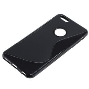 Silikon Case / Schutzhülle für Apple iPhone 6S Plus S-Curve schwarz