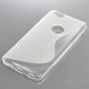 Silikon Case / Schutzhülle für Apple iPhone 6S Plus S-Curve transparent