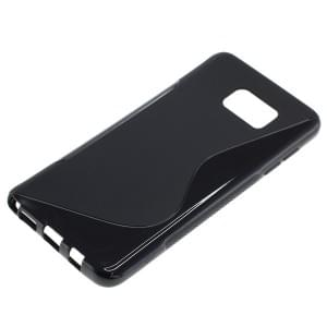 Silikon Case / Schutzhülle für Samsung Galaxy Note 5 S-Curve schwarz