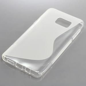 Silikon Case / Schutzhülle für Samsung Galaxy Note 5 S-Curve trabsparent