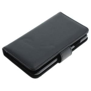 Ledertasche PU Leder für Apple iPhone 6S Bookstyle schwarz