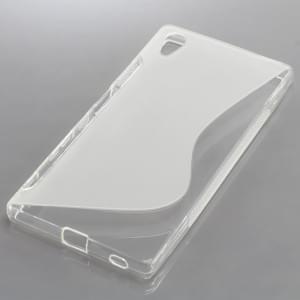 Silikon Case / Schutzhülle für Sony Xperia Z5 S-Curve transparent