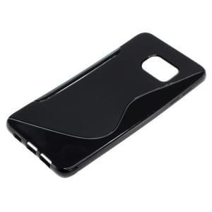 Silikon Case / Schutzhülle für Samsung Galaxy S6 Edge+ SM-G928F S-Curve schwarz