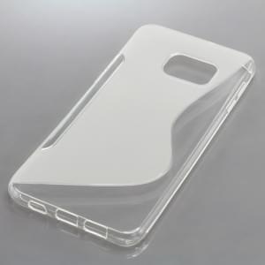 Silikon Case / Schutzhülle für Samsung Galaxy S6 Edge+ SM-G928F S-Curve transparent