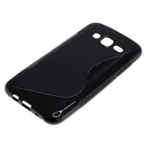 Silikon Case / Schutzhülle für Samsung Galaxy J5 SM-J500F S-Curve schwarz