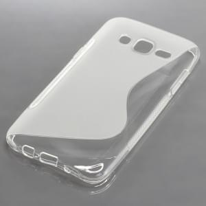Silikon Case / Schutzhülle für Samsung Galaxy J5 SM-J500F S-Curve transparent