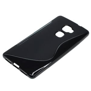 Silikon Case / Schutzhülle für Huawei Mate S S-Curve schwarz