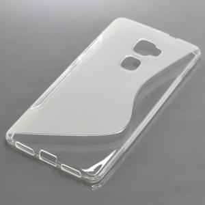 Silikon Case / Schutzhülle für Huawei Mate S S-Curve tranparent