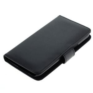 Ledertasche PU Leder für Samsung Galaxy J5 SM-J500F Bookstyle schwarz