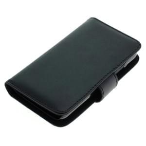 Ledertasche PU Leder für Huawei Y3 Bookstyle schwarz