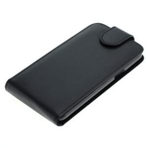 Ledertasche PU Leder für Samsung Galaxy J5 SM-J500F Flipcase schwarz