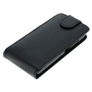 Ledertasche PU Leder für Huawei Y5 Flipcase schwarz