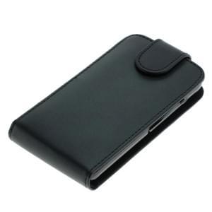 Ledertasche PU Leder für Huawei Y3 Flipcase schwarz