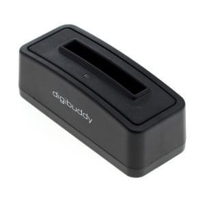 Akku Ladestation für Nokia BL-4U - schwarz