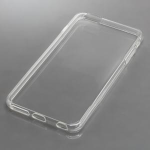 Silikon Case / Schutzhülle für Apple iPhone 6 Plus / iPhone 6S Plus voll transparent