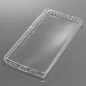Silikon Case / Schutzhülle für Huawei P8 Lite voll transparent