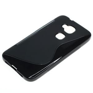 Silikon Case / Schutzhülle für Huawei G8 S-Curve schwarz