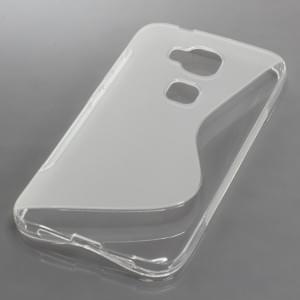 Silikon Case / Schutzhülle für Huawei G8 S-Curve transparent