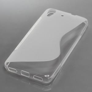 Silikon Case / Schutzhülle für Huawei Y6 S-Curve transparent