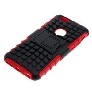 Shockproof Case mit Ständer für Apple iPhone 6 / iPhone 6S schwarz-rot