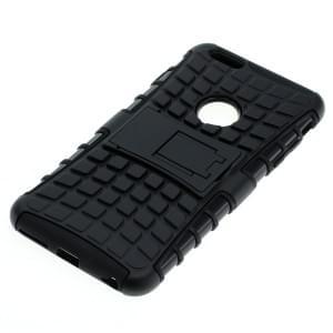 Shockproof Case mit Ständer für Apple iPhone 6 Plus / 6S Plus schwarz