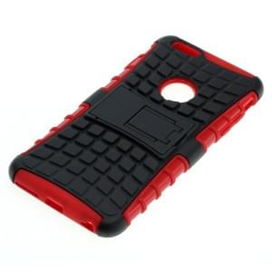 Shockproof Case mit Ständer für Apple iPhone 6 Plus / 6S Plus schwarz-rot