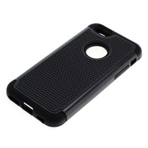 Outdoor Dual Schutzhülle mit Ständer für Apple iPhone 6 / 6S schwarz