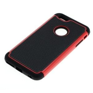 Shockproof Case für Apple iPhone 6 Plus / 6S Plus schwarz-rot