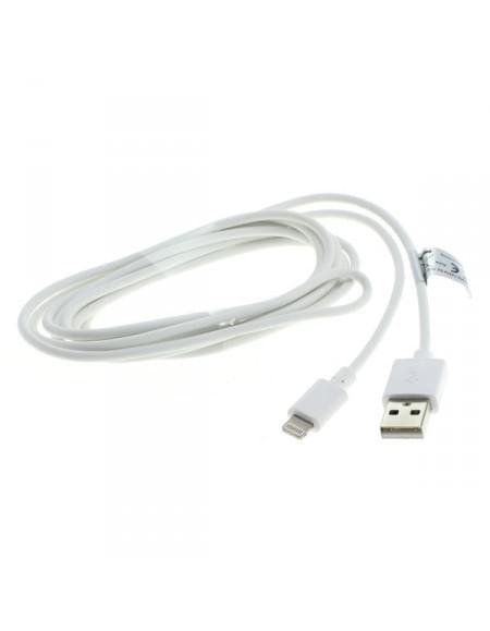 USB Sync- & Ladekabel für Apple iPhone / iPad - für Geräte mit Lightning Connector - 2m