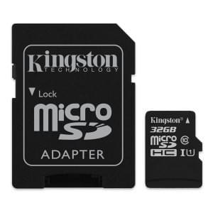 Kingston Speicherkarte microSDHC Class 10 32GB