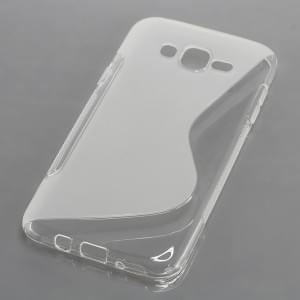 Silikon Case / Schutzhülle für Samsung Galaxy J7 SM-J700 S-Curve transparent