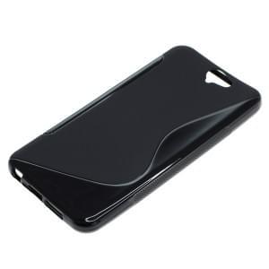 Silikon Case / Schutzhülle für HTC One A9 S-Curve schwarz