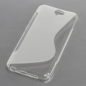 Silikon Case / Schutzhülle für HTC One A9 S-Curve transparent