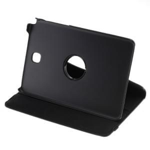 Ledertasche PU Leder für Samsung Galaxy Tab A 8.0 SM-T350 - 360 Grad drehbar - schwarz