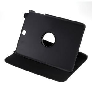 Ledertasche PU Leder für Samsung Galaxy Tab A 9.7 SM-T550 - 360 Grad drehbar - schwarz