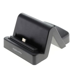 Universal USB Dockingstation Type C 3.1 variabler Connector incl. USB 3.0 Kabel - schwarz