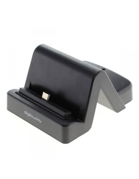 Universal USB Dockingstation Type C 3.1 variabler Connector incl. USB 3.0 Kabel - schwarz