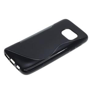 TPU Case Schutzhülle für Samsung Galaxy S7 S-Curve schwarz