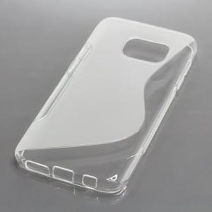 TPU Case Schutzhülle für Samsung Galaxy S7 S-Curve transparent